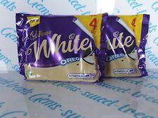 Cadbury White Oreo White Chocolate Bars 8 Bars