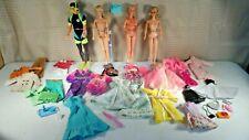 Lot #30 - 40 Pieces - 1968 TNT Barbie, 2-1966 Barbies, 1968 Ken & Clothes Lot