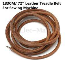 72'' Leather Belt Treadle Parts With Hook For Singer Sewing Machine 3/16'' (5mm)