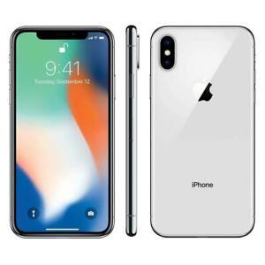 Apple iPhone X - 64GB - Silver (GSM Unlocked) A1901
