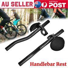 New listing Triathlon Aero Rest Handle Bar Clip On Bars Road Mountain Bike Bicycle Alloy