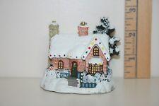 Bradford Editions Ornament - Kinkade's Winter Memories - Village Christmas 2001