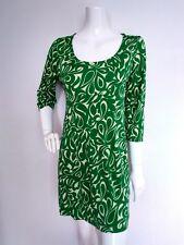Designer LK BENNETT green silk jersey dress size 12 --BRAND NEW-- 100% Silk