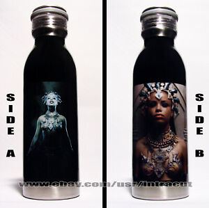 Aaliyah - Queen of the Damned Stainless Steel Water Bottle 20 oz Model #A01