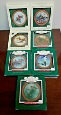 Vintage Hallmark Wildlife Collection Bird Ornaments Series 1 One Through 7 Seven