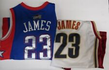 LeBron James Youth Jersey lot of 2 Cavs Y L Length +2 Y M Length +2 041418DBT