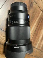 Sony Zeiss Distagon T* FE 35mm F1.4 ZA  Camera Lens (SEL35F14Z)