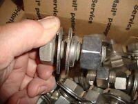 "(15 Pc)  3/4""-10 x 2   Coarse Hex Cap Screw (Bolt) Stainless Steel 304 #st00014"