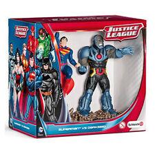 Schleich Justice League Superman vs Darkseid Scenery + WARRANTY✓ AUTHENTIC✓