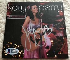 AUTOGRAPHED KATY PERRY MTV Unplugged CD SIGNED Beckett Ceritfied BGS