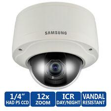 F7A7 Samsung SNV-3120 Network IP DOME Varifocal PoE CCTV CAMERA VandalResistent