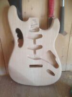 NEW Stratocaster Guitar Body by ASH WOOD