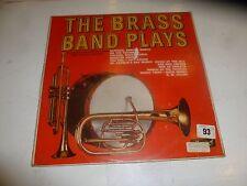 THE BRASS BAND PLAYS - 1965 UK 12-Track Vinyl LP