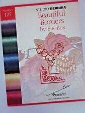 Studio Artista BERNINA Beautiful Borders by Sue Box (Number 127) Embroidery Card