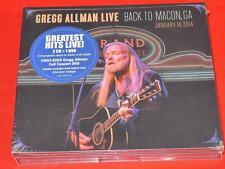 Gregg Allman Live: Back To Macon, GA ( August 7, 2015) [2CD/1DVD] [Digipak]