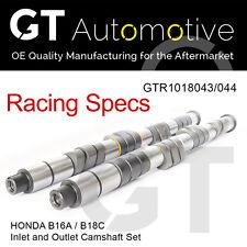 Conjunto de rendimiento de carreras del árbol de Levas Escape Honda B16A/B18C VTEC De Entrada &
