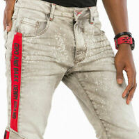 CIPO & BAXX IBIZA MENS JEANS DENIM SLIM FIT ALL SIZES