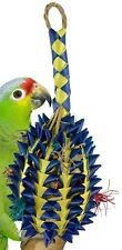 03366 Large Pineapple Foraging Bird Toy Cage Toys Cages Foraging Chew Shredder