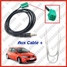 Outils + Cable MP3 AUX pour  MEGANE 2 LAGUNA KANGOO MODUS CLIO 3 TWINGO CLIO 2