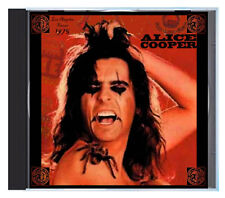 ALICE COOPER with Lou Reed's band, 'Welcome To My Nightmare', LIVE in 1975 on CD