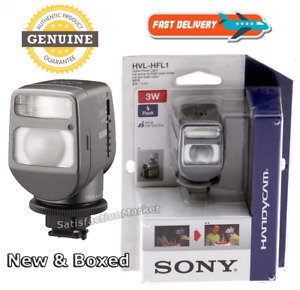 Genuine Sony HVL HFL1 Mount Flash, Video Light and Flash  for Sony Camcorders