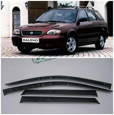 For Suzuki Baleno Wagon 1999-2002 Side Window Visors Rain Guard Vent Deflectors