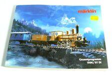 Märklin Catalogo Gesamtprogramm 1996 1997 Locomotiva a Vapore Carroza Merci