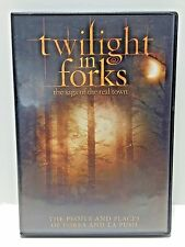 Twilight in Forks: The Saga of the Real Town (DVD, 2010) WORLD SHIP AVAIL