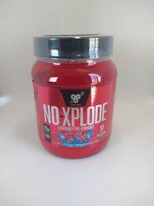BSN NO XPLODE Pre-Workout Nitric Oxide Booster Creatine Pump Energy Powder 60 SV