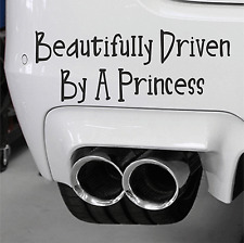 Beautifully Driven By A Princess Sign Car Decal Little Mix Girl Power Sticker