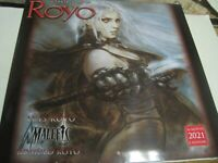 FANTASY ART OF ROYO 2021 16 MONTH WALL CALENDAR 12 PICTURES NEW SHRINK WRAPPED