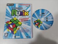 LE DÉFI DE LA CUBE DE RUBIK PUZZLE JEU DE PC CD-ROM ESPAGNOL