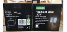 WHOLESALE JOBLOT 50 X BRAND NEW 120W MAINS POWERED FLOODLIGHTS BANKRUPT STOCK