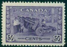 CANADA #261 50¢ violet, og, NH, VF, Scott $45.00