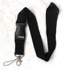 lot of 50pcs black neck Lanyard Detachable Keychain Camera Strap Badge ID holder