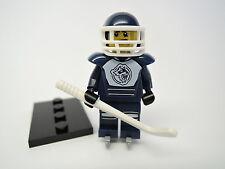 LEGO personaggio Sammelfigur serie 4 n. 8 Hockey su Ghiaccio Giocatore merce nuova + PIASTRA col056