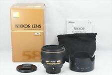 【MInt in Box】Nikon NIKKOR AF-S 58mm F/1.4G Lens From Japan #6986