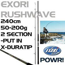 Exori RUSHWAVE Angelrute Spinrute Pilkrute Bootsrute 2-teilig 2,40 m 50-200g TOP