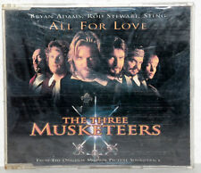 Single-CD The three Musketeers-All for Love-Bryan Adams/Rod Stewart/STING