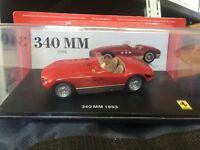 """DIE CAST """"  340 MM - 1953 """" FERRARI GT COLLECTION  SCALA 1/43"""