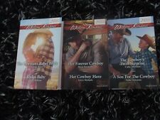 MILLS & BOON 6 WESTERN ROMANCES 07/2017 LIKE NEW
