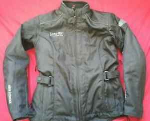 Ladies HEIN GERICKE VENICE GORETEX® MOTORCYCLE JACKET EU 36  UK Size 8  D3O back