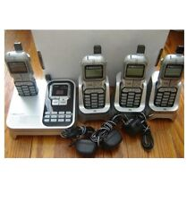 BellSouth GH5862SLEX 5.8ghz 4 Handset Cordless Phone Answering Machine Caller ID