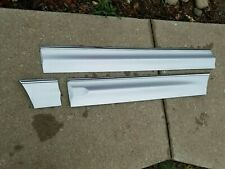 97-05 Buick Park Avenue Left Driver Side Door Trim Moldings Silver  (3) PC
