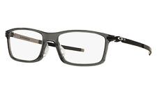 Oakley Eyeglasses Frames OX8096-0655  Pitchman A Grey Smoke Asian Fit 55-18-140