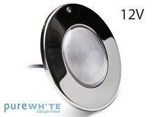 J&J Electronics Purewhite  LPL-F3W-12-100-P  HI Series LED Pool Light NEW