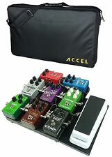 Guitar Effects Modular Pedalboard Accel  XTA10, One Wha/ Volume Extension & Tote