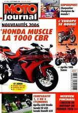 MOTO JOURNAL 1678 HONDA CBR 1000 RR HARLEY DAVIDSON Street Rod Version Course