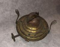 Vintage Queen Anne 0 Vintage Oil Lamp Burner