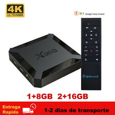 X96Q Android 10.0 TV Box Allwinner H313 2.4G Wifi Media Player Mini X96 TV Caja